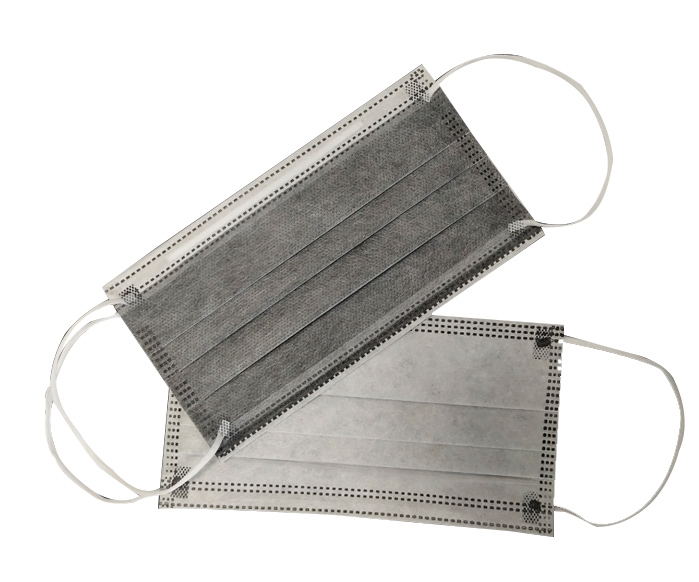 四层活性炭一次性防护口罩